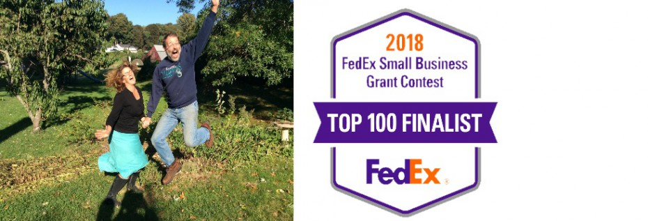 We made Fedex competition final 100!!